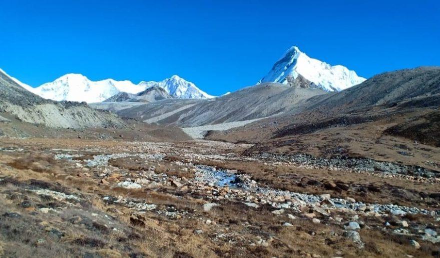 Two Peak Climbing   Seto Pokhari