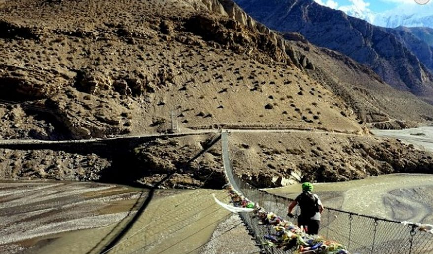 Upper Mustang Mountain Biking | Mustang Biking Tours.