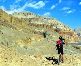 Upper Mustang Mountain Biking Tour.