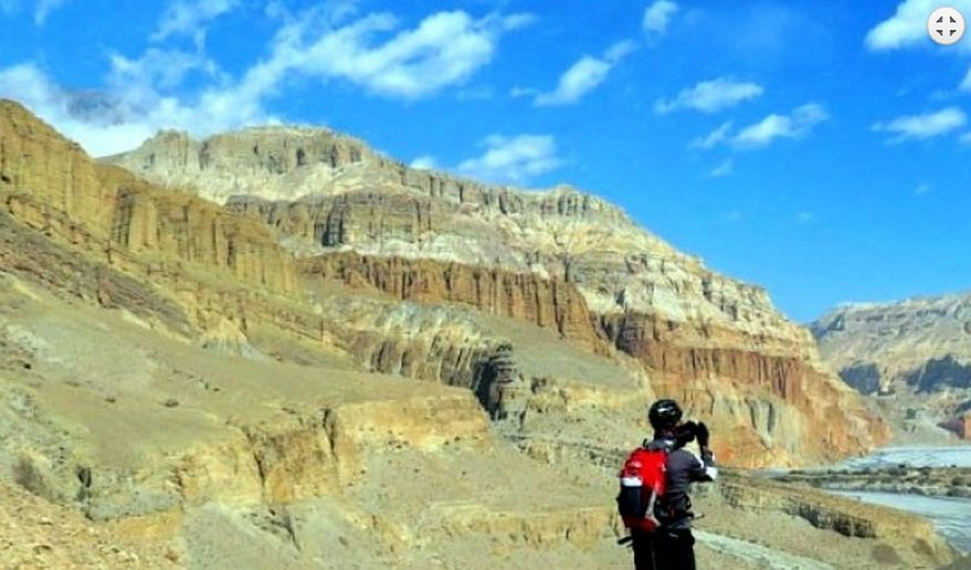 Upper Mustang Mountain Biking Tour.