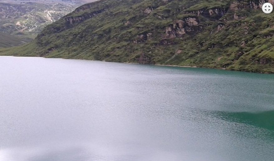 Utso Lake - during Dagala Thousand Lake Trekking.