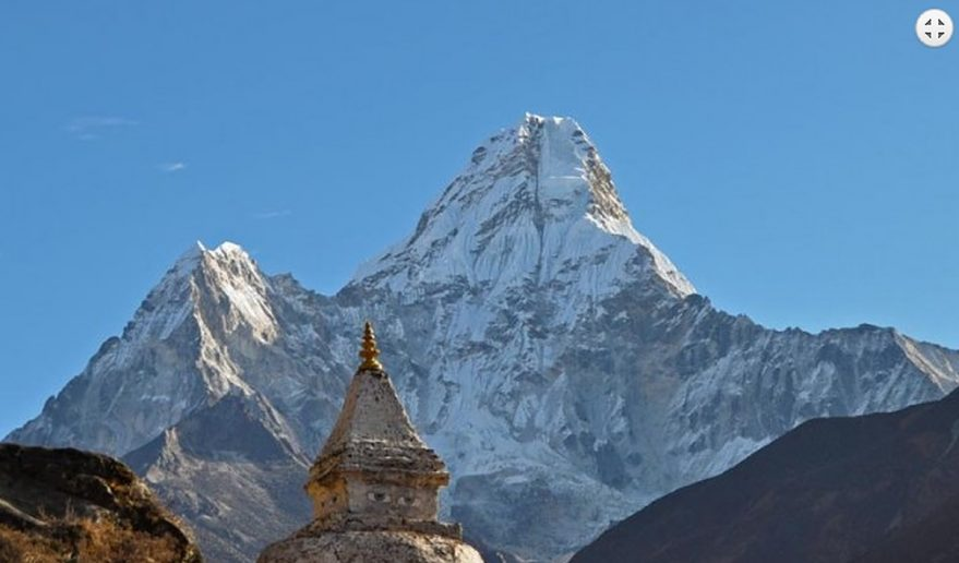 Everest Base Camp Helicopter Tour   View during Trekking Everest Base Camp.