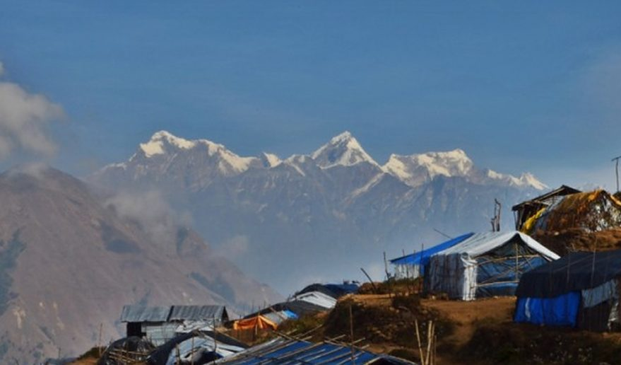 Lower Manaslu Eco Trek | View from Laprak Village