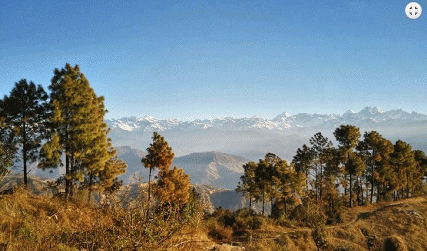 Nepal Holiday Tour | View of Langtang Range from Nagarkot Hill