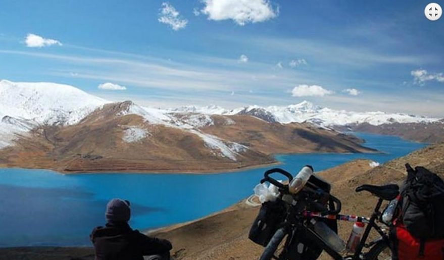 View of Manasarovar Lake.