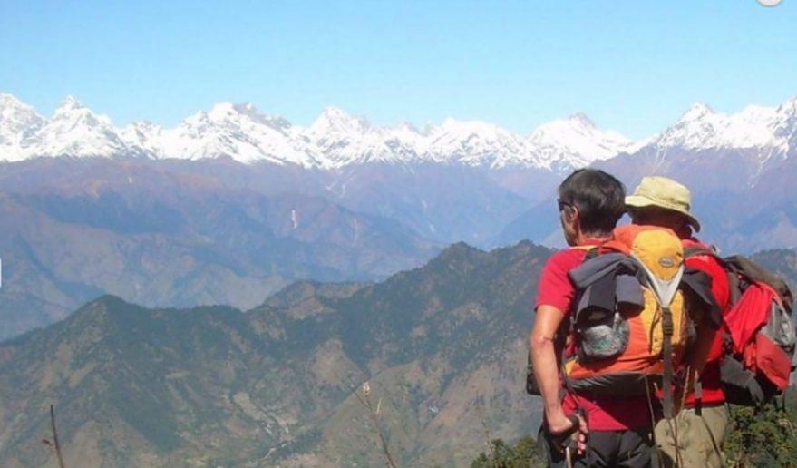 Rara lake Trek | View of Mt. Saipal