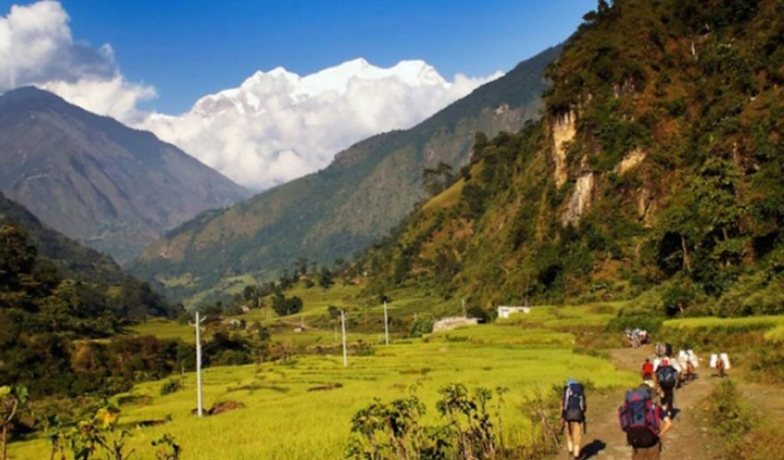 Kanchenjunga Circuit Trek | Kanchenjunga trail trekking with panoramic scenery