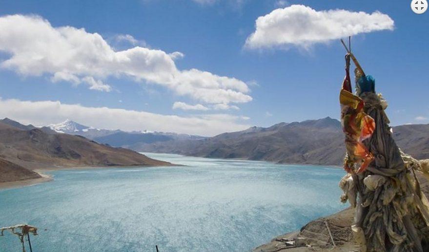 Kathmandu Lhasa EBC Tour | Yamdrok Tso Lake.