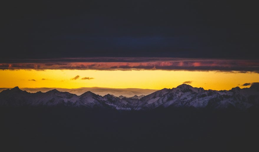 Sunset View of Everest Region