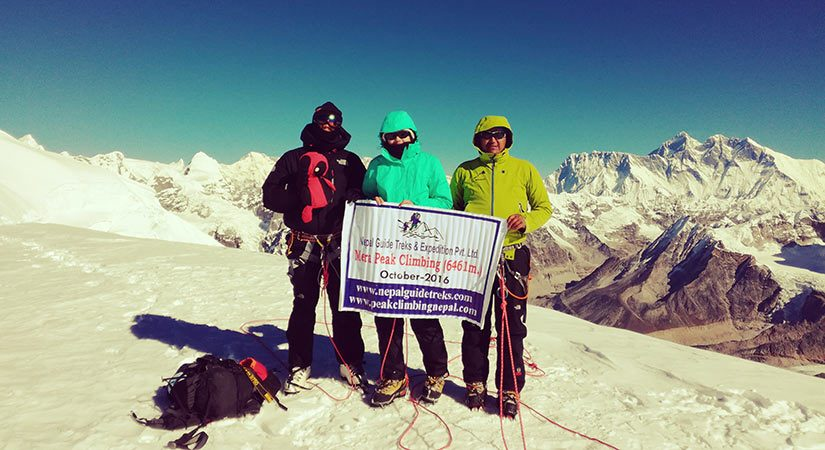 Mera Peak Summit
