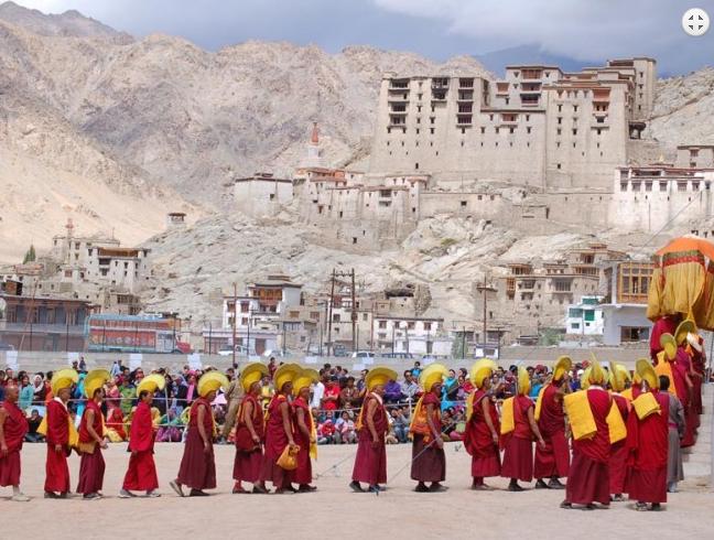 Buddhist Festival at Tsapar