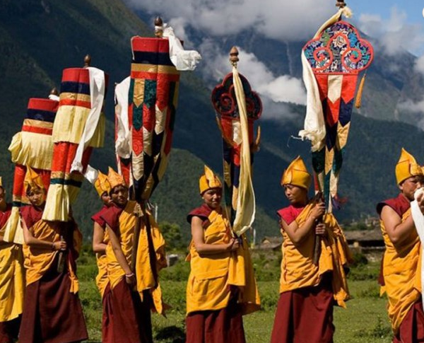 Buddhist Festival at Tsum valley | Manaslu Circuit Tsum Valley Trek