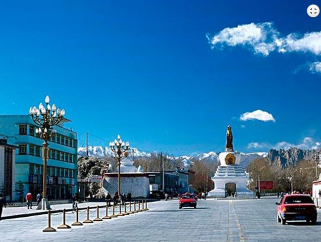Picture during Lhasa Sightseeing