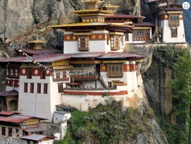 Tiger Nest Monastery at Paro