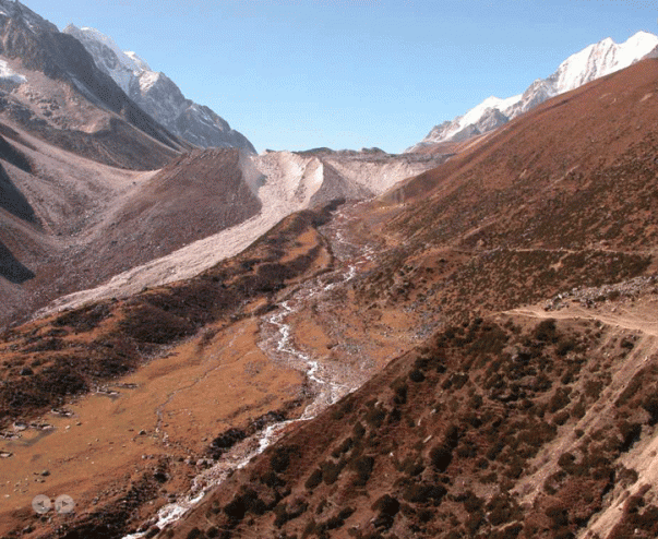Way to Larkay La Pass from Dharmasala | Manaslu Circuit Tsum Valley Trek