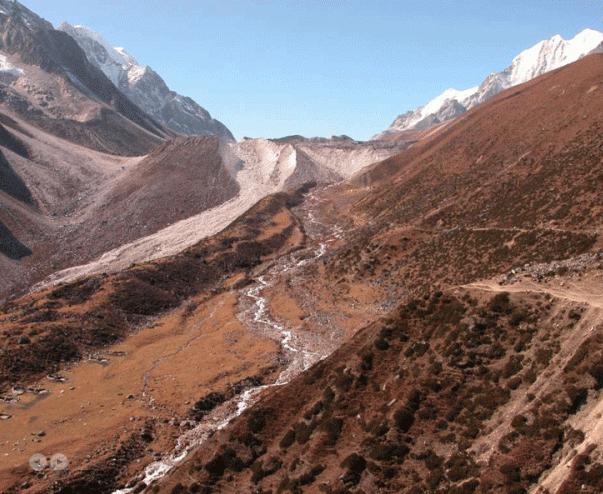 Way to Larkay La Pass from Dharmasala | Manaslu Circuit Tsum Valley Trek