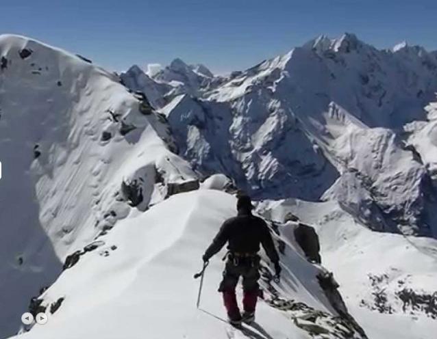 Yala Peak Summit at 5500 m
