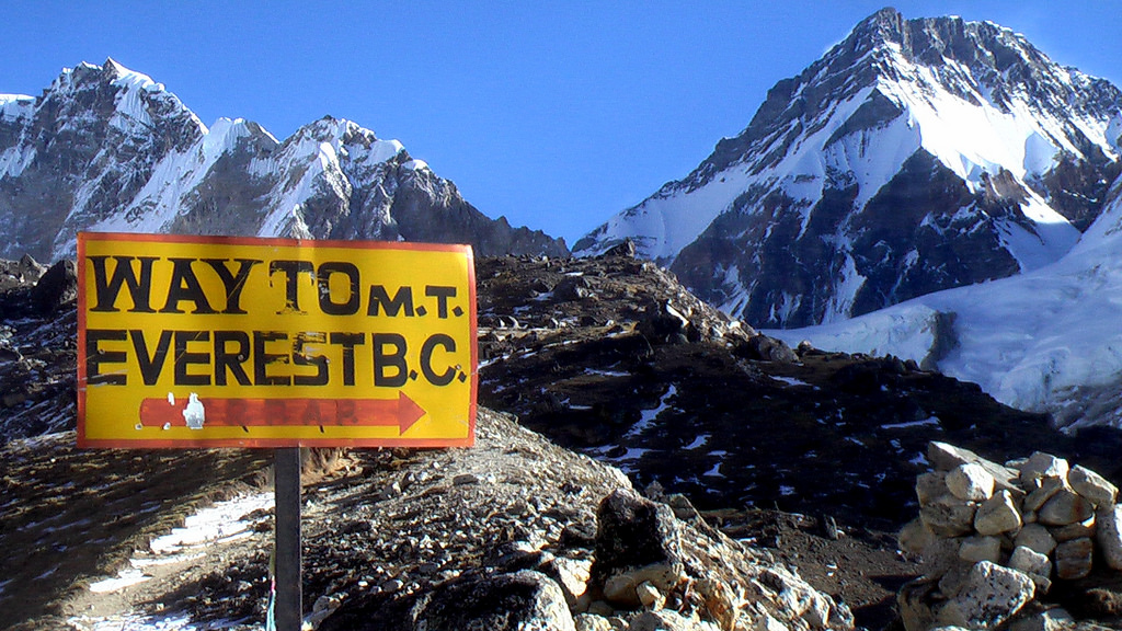 Mount Everest Base Camp Elevation
