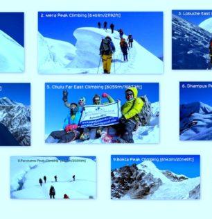 top 10 climbing peaks